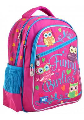 Фото Школьный рюкзак с совами YES S-23 Funny Birdies