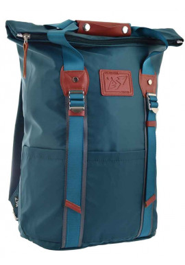 Фото Стильный рюкзак YES Roll-top T-58 Emerald