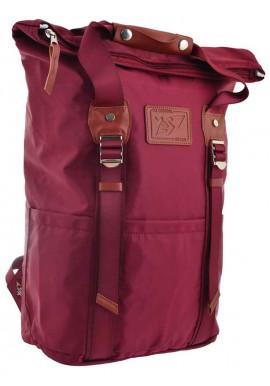 Фото Городской рюкзак YES Roll-top T-58 Bright rose