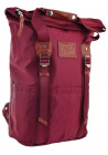 Городской рюкзак YES Roll-top T-58 Bright rose