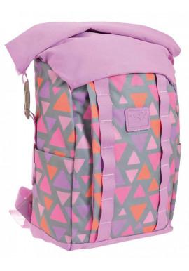 Фото Городской рюкзак YES Roll-top T-61 Colorful geometry