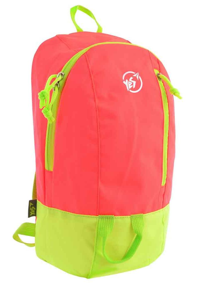 846844c23ebb Спортивный рюкзак YES VR-01 красно-салатовый