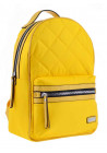 Женский рюкзак стеганый желтого цвета YES YW-45 Tutti