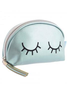 Фото Женская косметичка перламутровая YES YW-34 Sleeping eyes