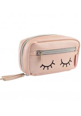 Фото Женская косметичка цвета пудры YES YW-35 Sleeping eyes