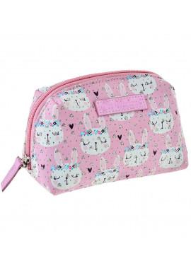 Фото Женская косметичка розовая YES YW-51 Rabbits