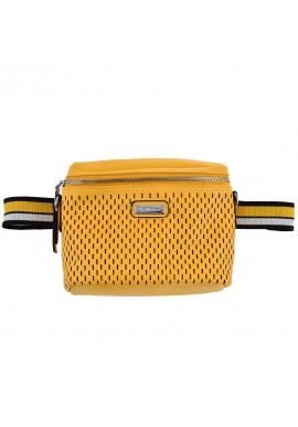 Фото Женская поясная сумка желтого цвета YW-48 Messina