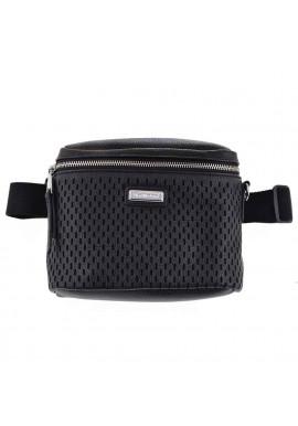 Фото Женская сумка на пояс черного цвета YW-48 Messina