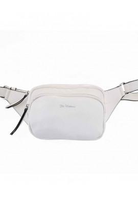 Фото Женская сумка на пояс белого цвета цвета YW-49 Alda