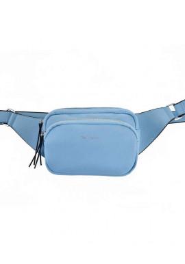 Фото Женская сумка на пояс голубая YW-49 Alda
