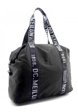 Фото Женская сумка из текстиля Emkeke 977 черная