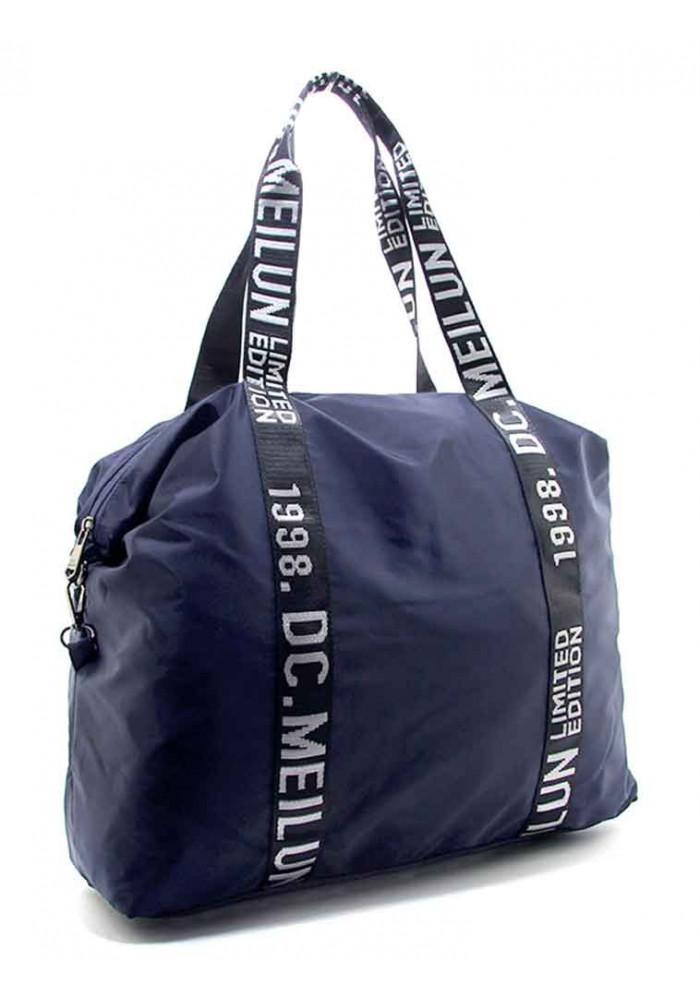 Фото Женская сумка из синего текстиля Emkeke 977