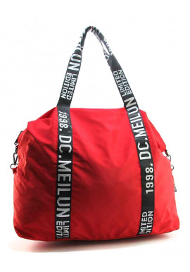 Фото Женская красная сумка из текстиля Emkeke 977