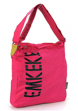 Фото Женская розовая сумка из текстиля Emkeke 922