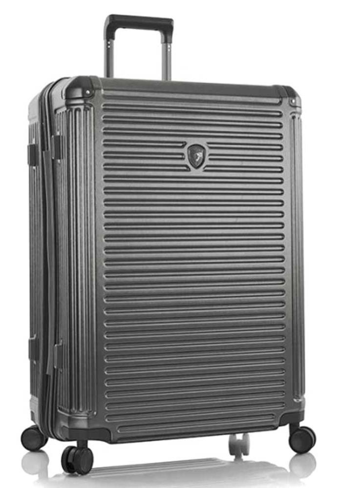 Стильный чемодан на колесах Heys Edge L Gunmetal