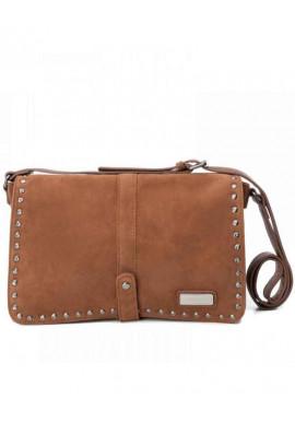 Фото Женская сумка из замши Carmela 86099 коричневая