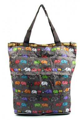 Фото Женская сумка для пляжа 9801-3 brown