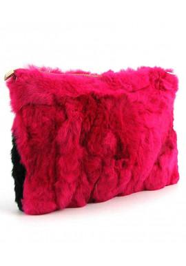 Фото Женский клатч-сумка из меха