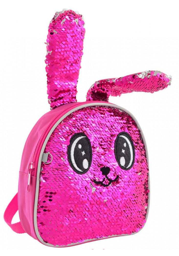Рюкзак детский Зайчик розовый YES K-25 Honey Bunny