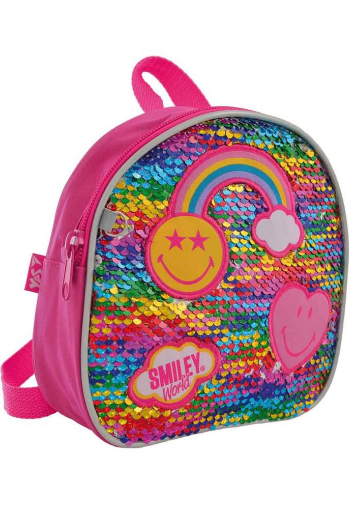 Рюкзак детский с радугой YES K-25 Rainbow