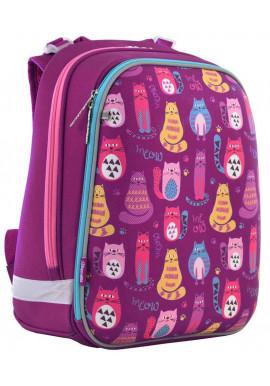 Школьный рюкзак 1 Вересня H-12 Cute cats