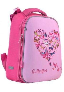Фото Школьный рюкзак 1 Вересня H-12 Delicate butterflies