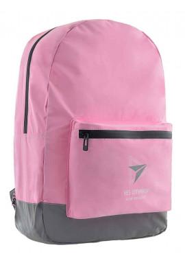 Молодежный рюкзак со светоотражающим эффектом YES Ultra Reflective T-66 Pink