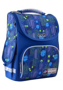 Фото Школьный каркасный рюкзак SMART PG-11 Galaxy