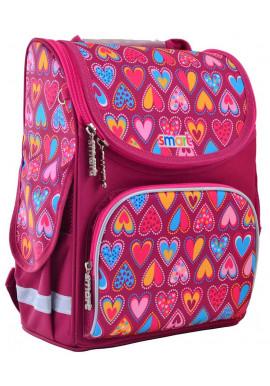 Школьный каркасный рюкзак SMART PG-11 Hearts Style