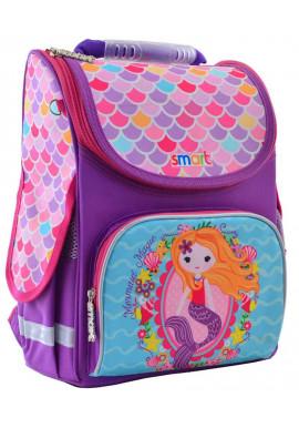 Фото Каркасный рюкзак для школы SMART PG-11 Mermaid