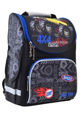 Рюкзак для школы каркасный SMART PG-11 Speed 4*4