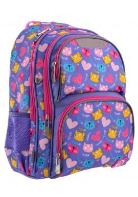 Фото Школьный рюкзак YES S-30 Juno Loving Cats