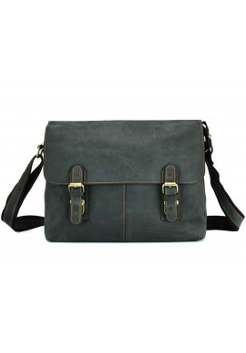 Фото Мужская сумка на плечо из кожи Tiding Bag 6002A-1