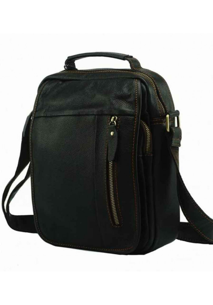 Фото Мужская кожаная сумка на плечо Tiding Bag A25-2158B