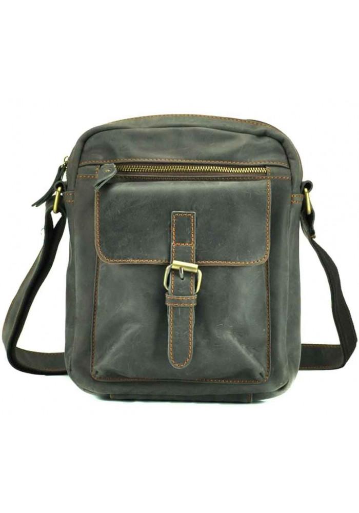 Сумка через плечо серо-зеленого цвета Tiding Bag NM15-1783G