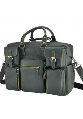 Фото Мужская дорожная сумка из кожи TIDING BAG 7028RA