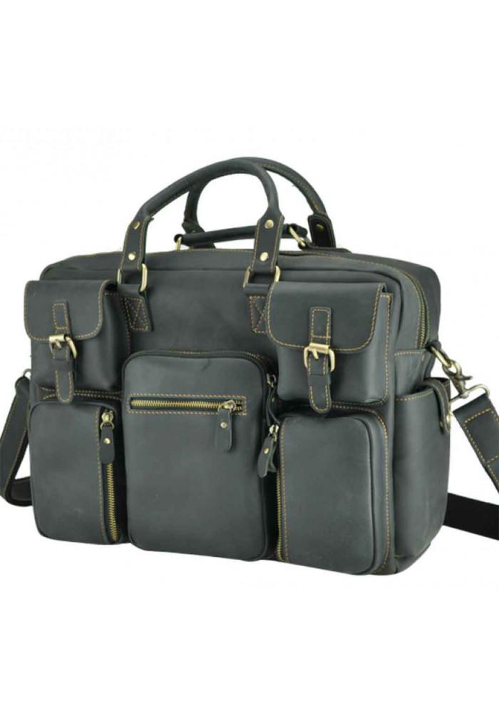 Мужская дорожная сумка из кожи TIDING BAG 7028RA