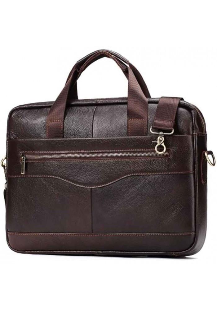 Мужской портфель из коричневой кожи Bexhill Bx1128C