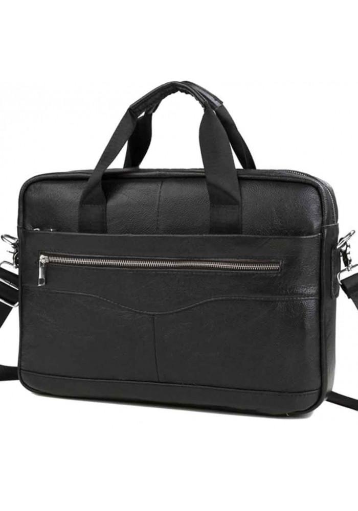 Мужской портфель из черной кожи Bexhill Bx1128A
