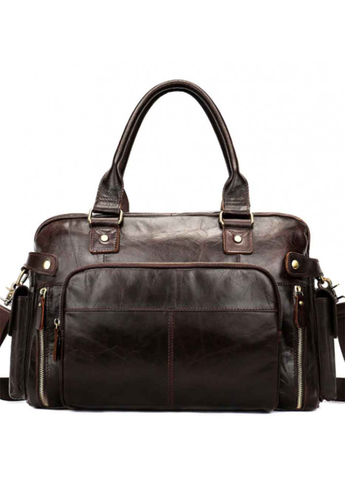 Мужской сумка из натуральной кожи Bexhill Bx-8535C