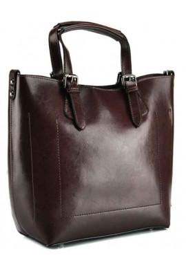 Фото Женская сумка из коричневой кожи Grays GR3-6103B