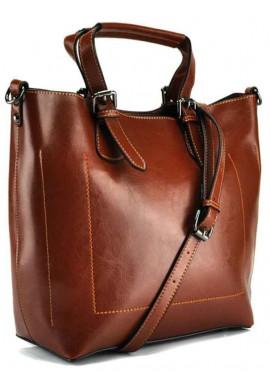 Фото Женская сумка кожаная Grays GR3-6103LB светло-коричневая