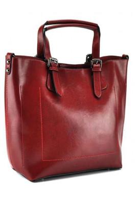 Фото Женская красная сумка из кожи Grays GR3-6103R