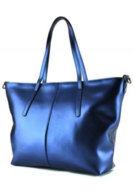Фото Женская сумка из перламутровой кожи Grays GR3-8687BLM