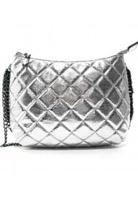 Фото Женская сумка-клатч Valensiy 20910 серебристый