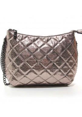 Фото Женская сумка-клатч Valensiy 20910 темное золото