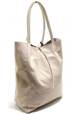Фото Кожаная женская сумка-щопер Italia 0483