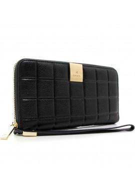 Стильный женский черный кошелек 60019