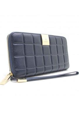 Женский кошелек кожаный CH 60019 Blue