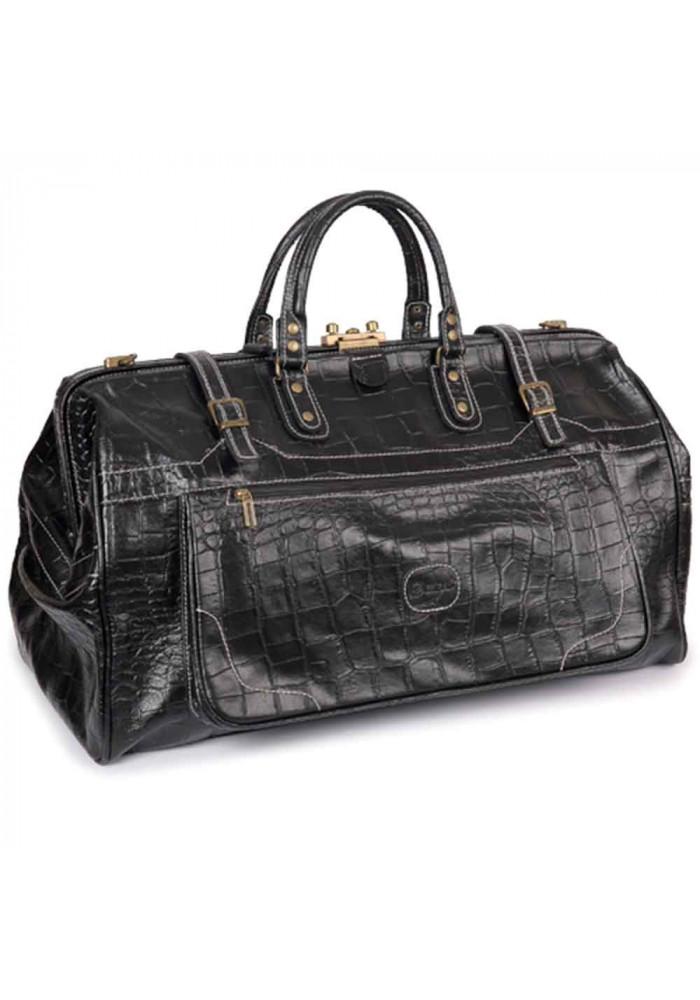 Фото Дорожная кожаная сумка-саквояж Desisan 703